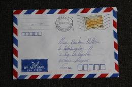 Lettre Envoyée Du CAMBODGE à FRANCE ( Poste Aérienne) - Cambodia