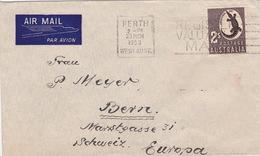 Brief 1953 Von Perth In Die Schweiz (br0404) - Storia Postale