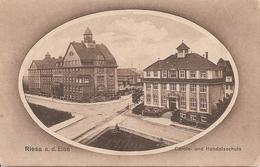 Allemagne : RIESA  Carola- Und Handelsschule    Réf 2842 - Riesa