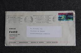 Lettre Envoyée En De CULLERA  ( Fincas FARO ) à SARCELLES ( FRANCE) - 1931-Hoy: 2ª República - ... Juan Carlos I
