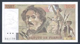 """BILLET DE 100 FRANCS """"DELACROIX"""" DE 1991 O.170 Grand Filigrane SUP   F 69 Bis 3a1 - 1962-1997 ''Francs''"""