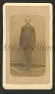 2 Scans / Photo-carte De Visite / CDV / W / Boy / Garçon / Van Gheluwe Coomans / Tournai / Théophile Hennion / 1889 - Communie