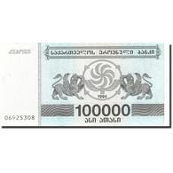 Géorgie, 100,000 (Laris), 1994, KM:48Ab, 1994, NEUF - Géorgie