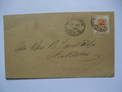 ORANGE FREE STATE - 1899 Cover - Bethlehem Postmarks - Südafrika (...-1961)