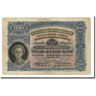 Suisse, 100 Franken, 1924-49, KM:35a, 1924-04-01, B - Suiza