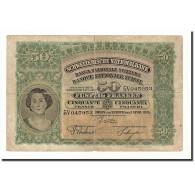 Suisse, 50 Franken, 1924-55, KM:34a, 1924-04-01, B - Suiza