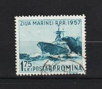1957, - Journee De La Marine  Mi No 1662 Et Yv No 1532 - 1948-.... Republiken