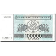 Géorgie, 100,000 (Laris), 1994, KM:48Ab, NEUF - Géorgie