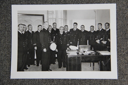 4 Photos De Militaires , MARINE NATIONALE, Prises à TOULON En 1955 Et 1957 - Guerre, Militaire