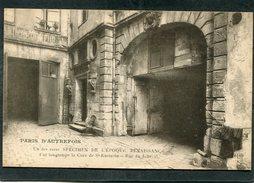 CPA - PARIS AUTREFOIS - Rue Du Jour, 25 - Fut Longtemps La Cure De St Eustache - District 01