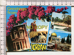 Vues De La Jordanie Greetings From - Jordanie