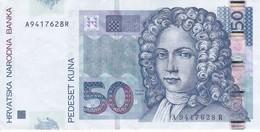 BILLETE DE CROACIA DE 50 KUNA DEL AÑO 2002  (BANKNOTE) - Croacia