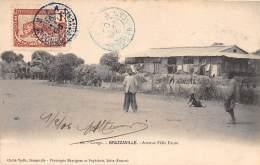 CONGO - BRAZZAVILLE / Avenue Félix Faure - Belle Oblitération - Brazzaville