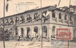 CONGO - BRAZZAVILLE / Palais Du Gouvernement Un Jour De Fête - Belle Oblitération - Brazzaville