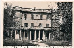 Cpsm 30  Argilliers Façade Chateau Du Baron De Castille - France