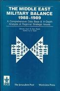 The Middle East Military Balance, 1988-1989 (ISBN 9780813309613) - Armées Étrangères