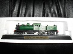 Collection Atlas Train Miniature 1/87,Locomotive Shay - Trains