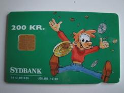 1 Chip Phonecard From Denmark - Sydbank