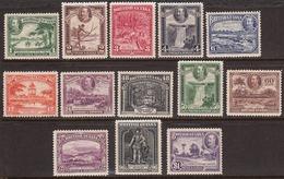 British Guiana 1934-51 Mint No Hinge/mounted, See Notes, Sc# 210-222, SG 288-300 - Guyane Britannique (...-1966)