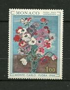 """MONACO. 1968   N°  743   """" Floralies Intern. àMonte Carlo ( Anémones De R.Dufy ) """"   NEUF - Unused Stamps"""
