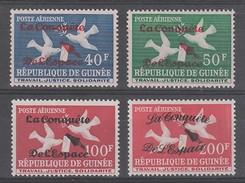 SERIE NEUVE DE GUINEE - 5E ANNIVERSAIRE DU PREMIER SPOUTNIK N° Y&T PA 22 A 25 - Space