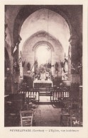 Peyrelevade 19 - Vue Intérieure Eglise - Edit. Vve Faury - France