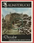 Kunstdrucke Dresden, 9 Historische Ansichten - Cartes Postales