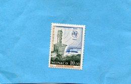 Monaco-poste Aérienne  N°A84 Neuf***sans Ch-1975 U IT-cote 6.1 Eu - Poste Aérienne