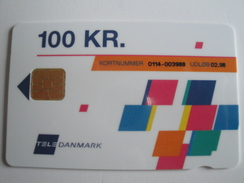 1 Chip Phonecard From Denmark - TeleDanmark