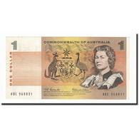 Australie, 1 Dollar, 1966-1972, KM:37a, 1966, SPL - Decimal Government Issues 1966-...