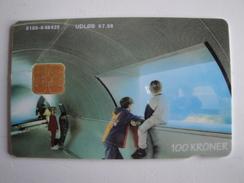 1 Chip Phonecard From Denmark - Aquarium