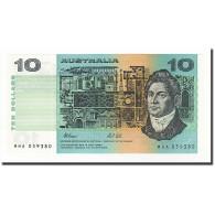 Australie, 10 Dollars, 1974-91, KM:45g, 1991, NEUF - Emissions Gouvernementales Décimales 1966-...
