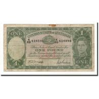 Australie, 1 Pound, 1938-52, KM:26b, Undated (1942), B - Emissions Gouvernementales Pré-décimales 1913-1965