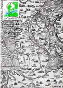 "BRD Maximumkarte ""100 Jahre Nord-Ostsee-Kanal"" Mi 1802 ESSt 8.6.1995 BERLIN 12 - [7] Federal Republic"