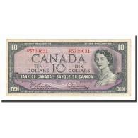 Canada, 10 Dollars, Undated (1961-71), KM:79b, TTB+ - Canada