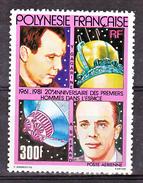 Polynésie PA 161 Premiers Hommes Dans L'espace Gomme Tropicale  Neuf ** MNH Sin Charmela Cote 14.5