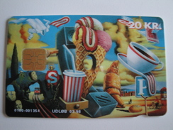 1 Chip Phonecard From Denmark - Icecream