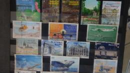 B Collection De Timbres Oblitérés De France Uniquement En Euros. A Saisir !!!