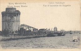 Gréce, Salonique ,vue D'ensemble Du Zeppelin - Grecia