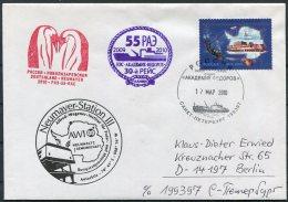 2010 Russia Polar Antarctic Antarctica Ship Ice-breaker Expedition Penguin Cover. Neumayer Station - Antarctic Expeditions