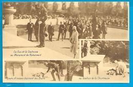 Le Duc Et La Duchesse Au Monument De Robermont - Familles Royales