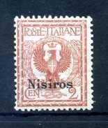 1912 NISIRO N.1 * - Aegean (Nisiro)
