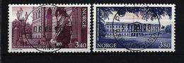 NORWEGEN - Mi-Nr. 1295 - 1296 - 150 Jahre Königliches Schloss, Oslo Gestempelt - Norwegen