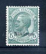 1912 NISIRO N.2 * - Aegean (Nisiro)