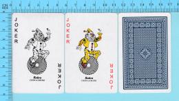 Cartes à Jouer - 2 Joker + As De Pique - Arriere Clasique - 2 Scans - Cartes à Jouer Classiques