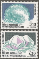 Fr Southern Antartic,  Scott 2017 # 146-147,  Issued 1989,  Set Of 2,  MNH,  Cat $ 5.00,  Minerals