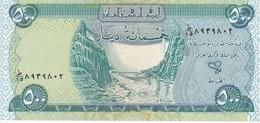 BILLETE DE IRAQ DE 500 DINARS DEL AÑO 2004  SIN CIRCULAR-UNCIRCULATED  (BANKNOTE) - Irak