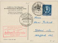 Deutschland Germany Oybin Friedrich Schiller Zittau Luftkurort Oberlausitz   (R028) - Briefe U. Dokumente