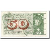 Suisse, 50 Franken, 1967, KM:48g, 1967-06-30, TTB+ - Suiza