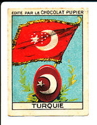 Chromo Chocolat Pupier / Turquie Drapeau  IM 138/24-M - Cioccolato